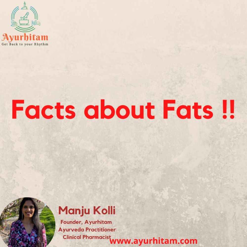 Facts about fats